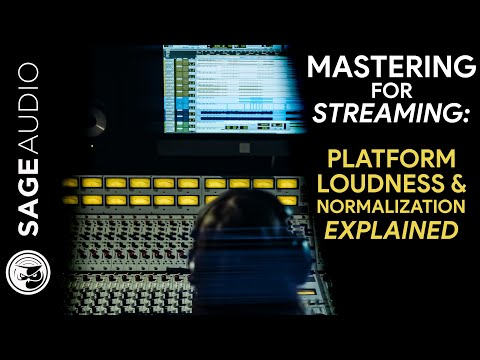 Master for Streaming: Platform Loudness and Normalization Explained
