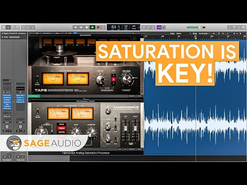What is Saturation for Mixing and Mastering?