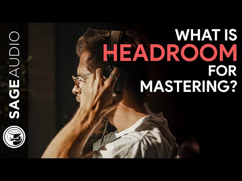 What is Headroom for Mastering?