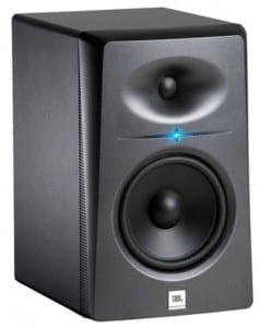 JBL LSR2325P studio monitor for mixing