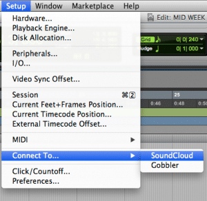 Pro Tools now integrates with your SoundCloud account