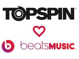 Topspin has been Aquired by Beats Music