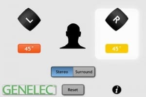 Genelec's SpeakerAngle App makes dialing in your monitors easy.