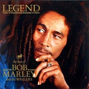 "30-year-old album ""Legend"" by Bob Marley hit the top ten last month thanks to a sale on Google Play."