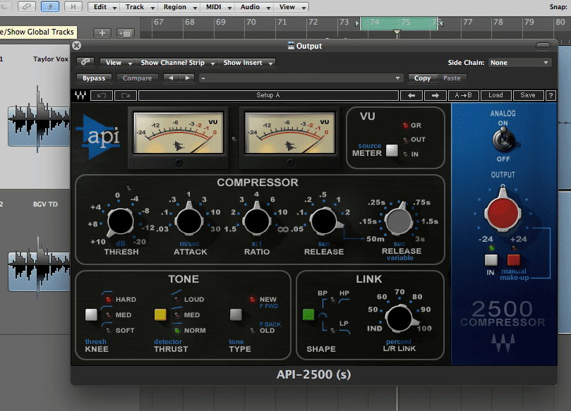 Using Mix Bus Compression for Punch