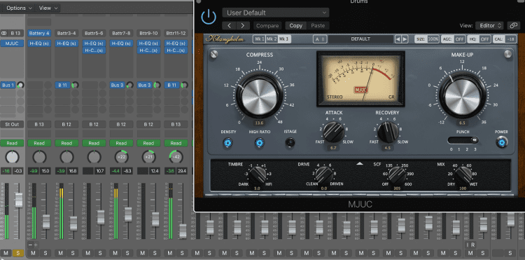 Busing and Compression for EDM Tracks