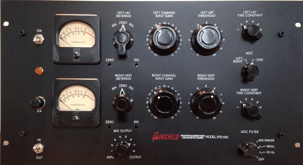 Fair Child 670 Audio Compressor