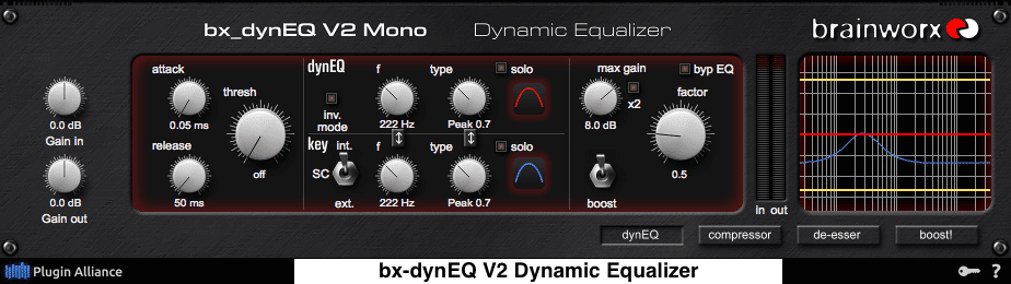 Dynamic EQ for Vocals
