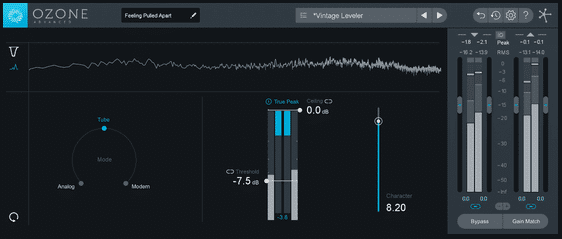 iZotope Ozone Dynamics and Vintage Mastering Limiter Plugin
