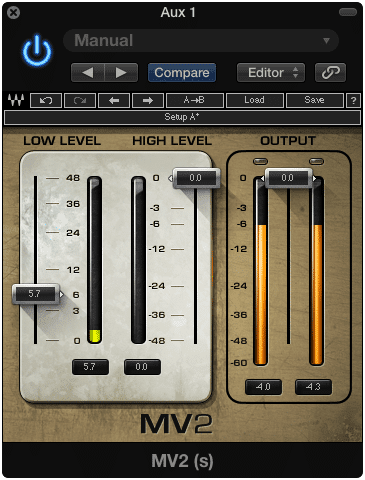 There is no need to use the high level compressor function.