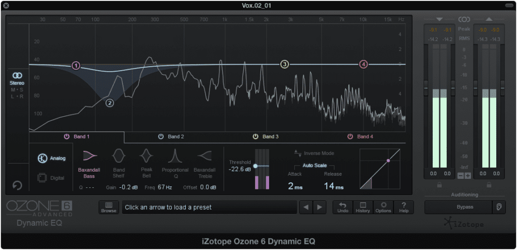 Although a dynamic EQ may not always be as effectively as a low cut filter, it should be consider a viable option for removing pops.