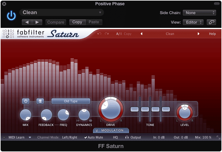 The FabFilter Saturn plugin is great for distinctive distortion types.