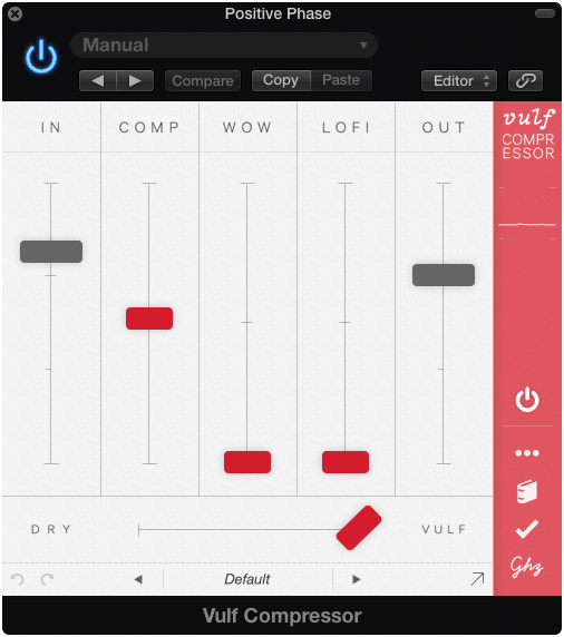 The Vulf Compressor from Good Hertz has unique functions that could behave in very different ways based on the input.