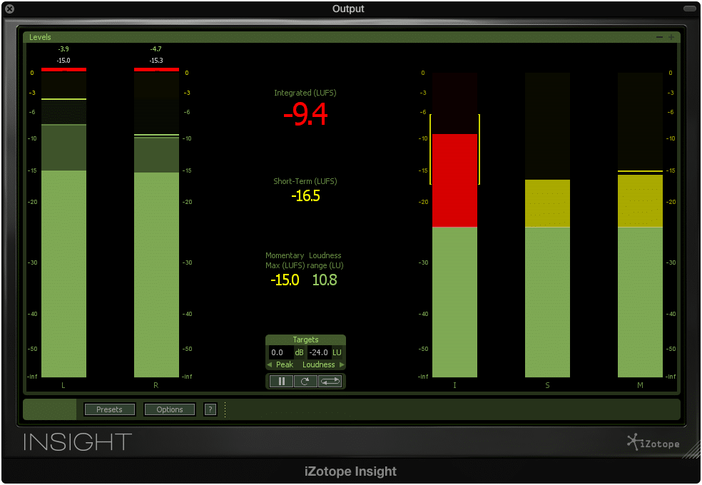 An integrated LUFS of -9 isn't uncommon for a digital master.