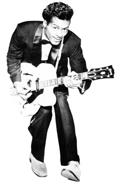 Chuck Berry was the driving force behind rock's inception.