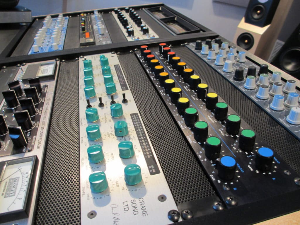 Analog mastering typically takes more time, since settings cannot be saved.