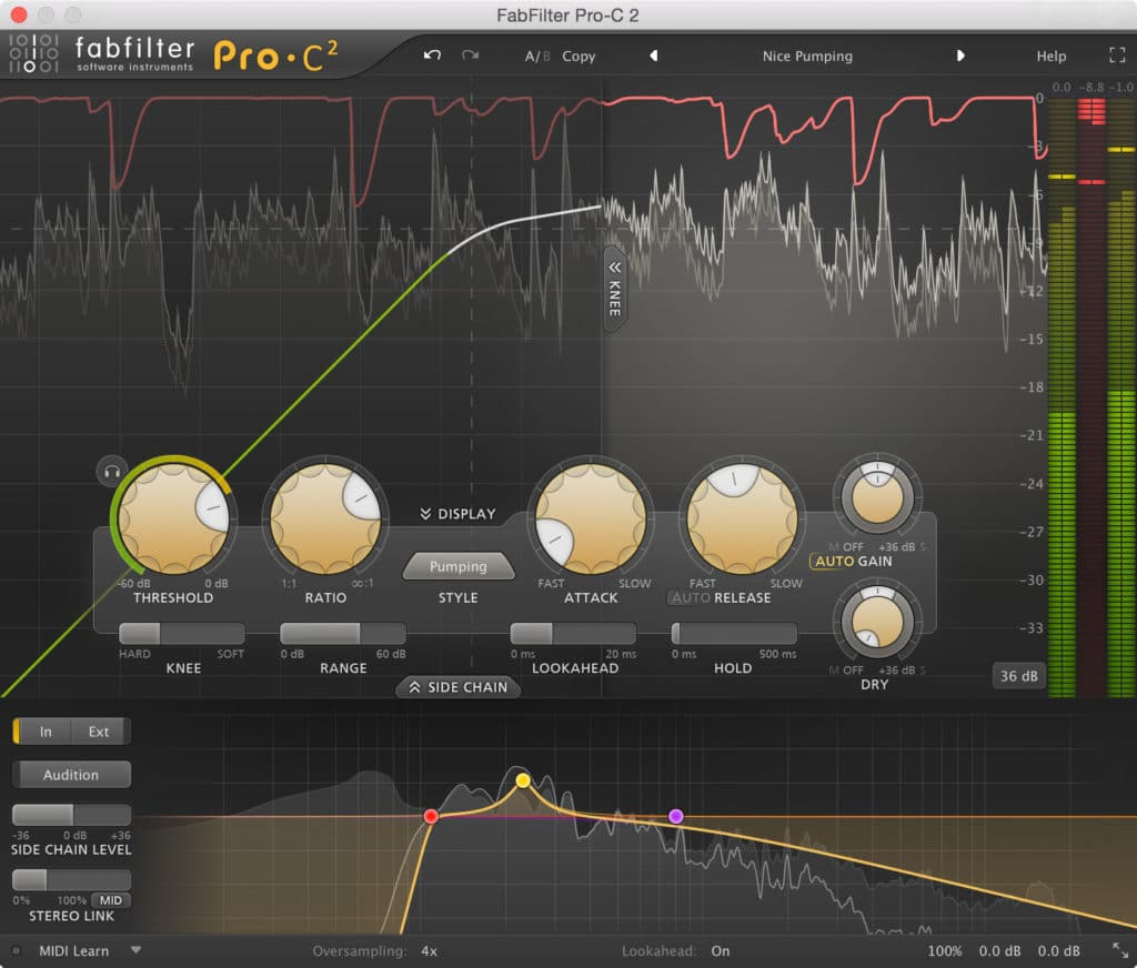 This low CPU intensive plugin, offers immense functionality, and can be used on every track during mixing.