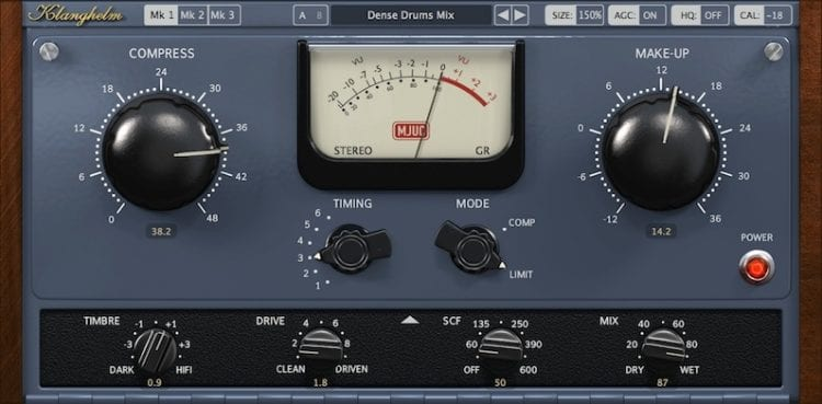 The MJUC emulates some of the best sounding, most popular hardware of the 1950's and 60's.