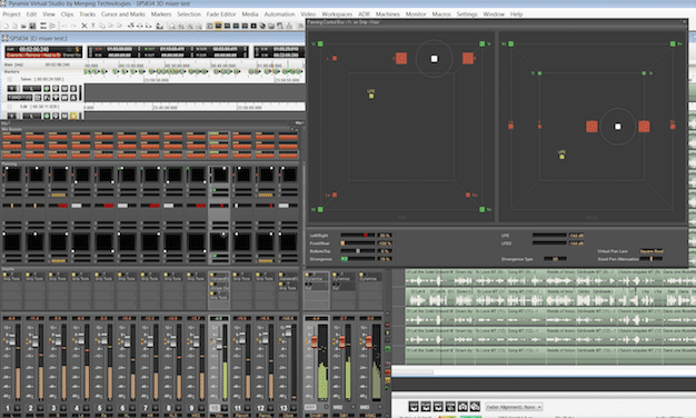 Although it sports a tough learning curve, Pyramix's editing tools are unparalleled.