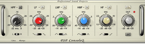 The PSP Audioware Console Q offers analog emulation, with a 4 band parametric EQ function.