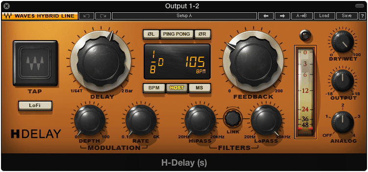 Delay can be used to thicken a lead vocal.