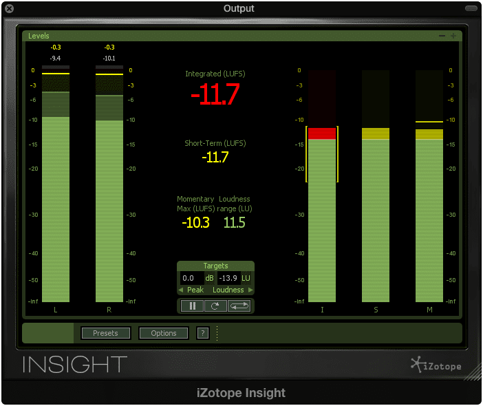 Integrated LUFS is the same metric ReplayGain uses to measure track loudness.