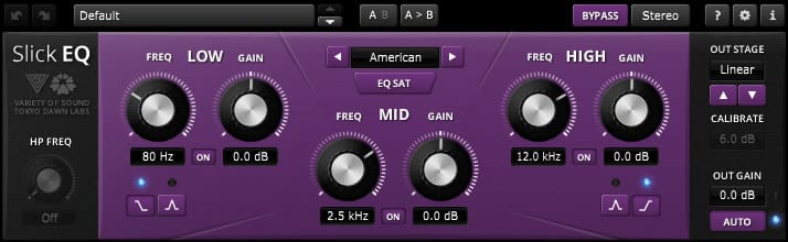 The SlickEQ is a completely free, fully functioning EQ.