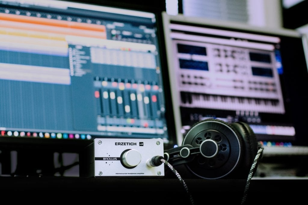 Today, a fair amount of music production can be done in a home studio.