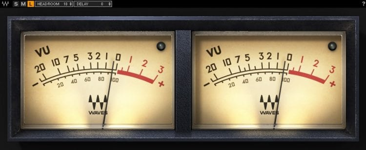 VU meters are incredibly helpful when determining dynamics.