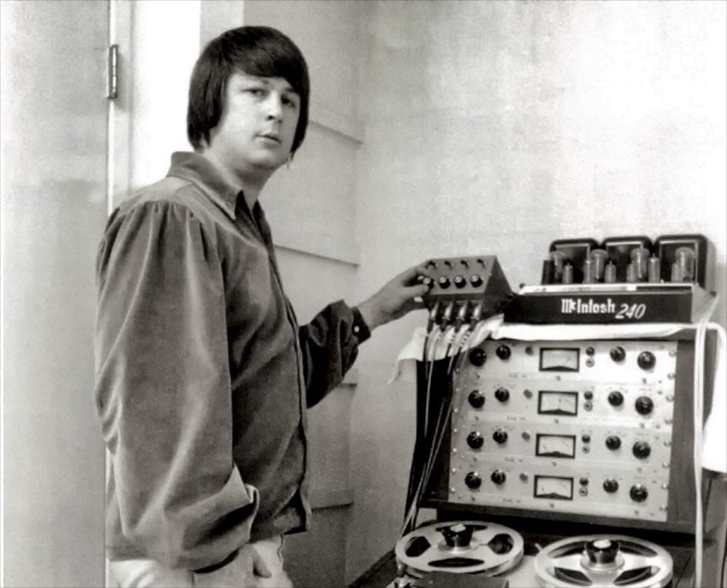 Brian Wilson also understood the recording side of things.