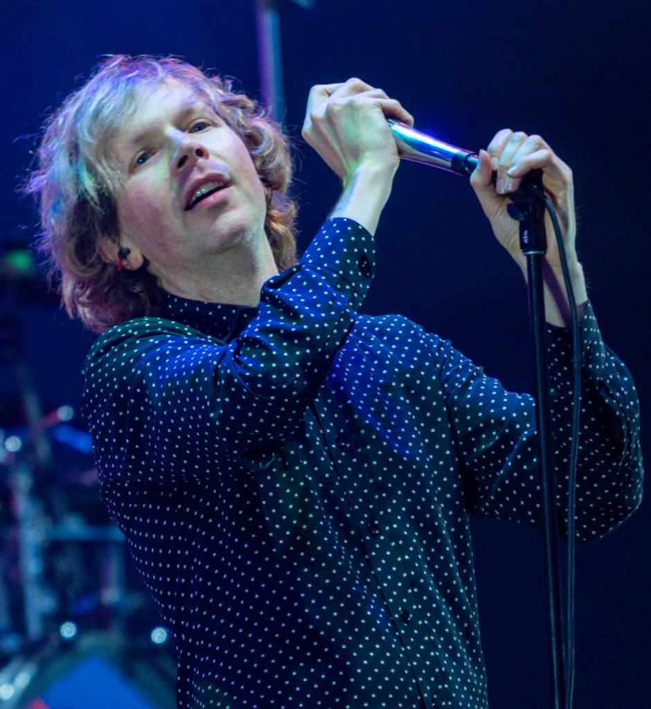 With Wilson as inspiration, Beck writes and records multiple instruments, as well as composed and arranged his albums.