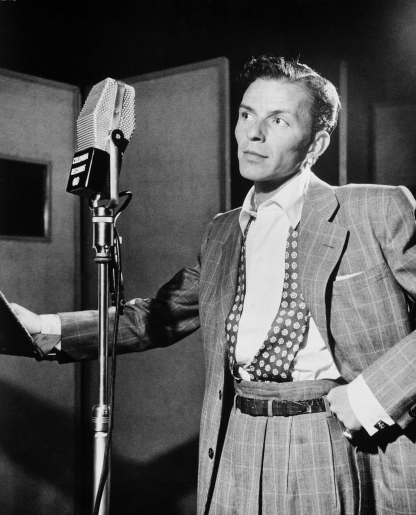 Frank Sinatra could masterfully move around a microphone, to create a balanced vocal performance, while reducing plosives and harsh sibilance.