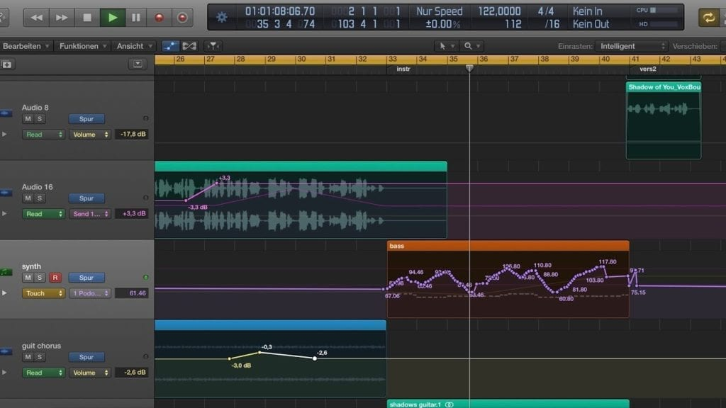 Automation offers an incredibly creative way to affect your mix. Don't ignore the possibility of making your mix unique.