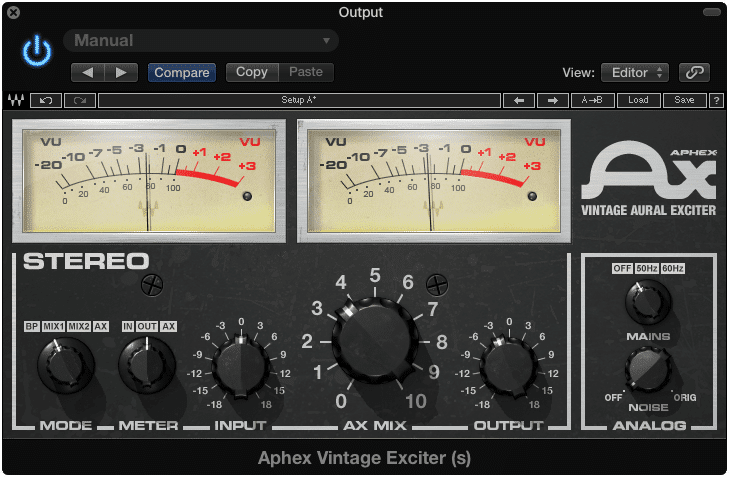 An exciter works by amplifying existing harmonics.