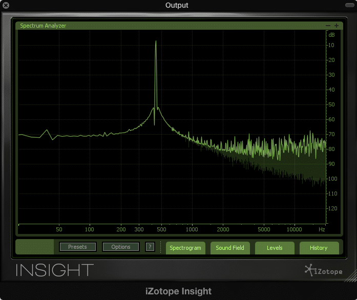 Above is a visual representation of bit depth distortion on a 400Hz sine wave as the fundamental.  Notice that the harmonics are primarily occupying the higher frequency range.