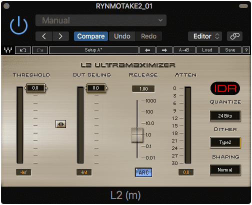 Many limiters have dithering incorporated into their functionality.