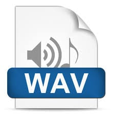 WAV files are the go-to uncompressed file of the audio world.