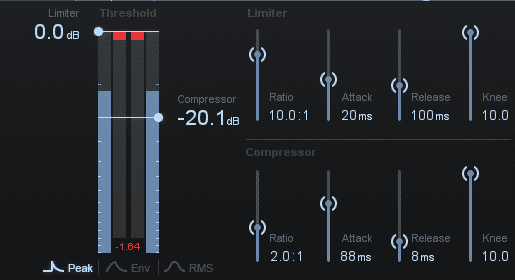 Compressing properly and controlling your dynamics, will negate the need for any brick wall limiting.