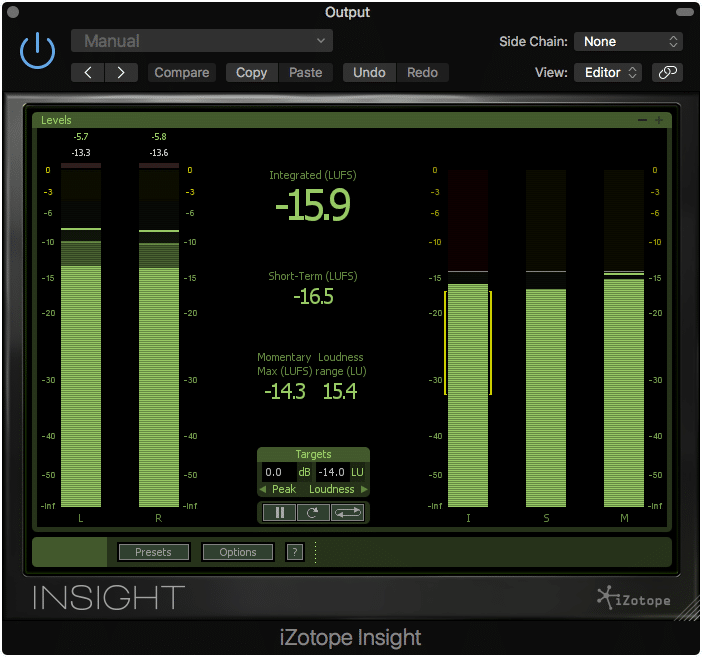 Establish your master's loudness with distribution in mind.