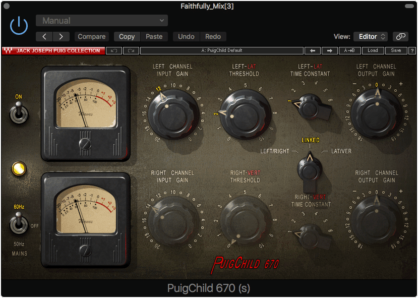Compression, analog emulation, and other various forms of processing are used during the mixing process.