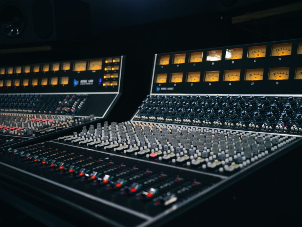 Recalling an analog mastering session means resetting a lot of rotary knobs.