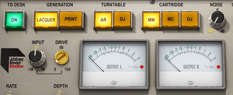 Notice the drive rotary.  Typically, increasing the drive function of a harmonic emulation plugin results in more harmonics or louder harmonics.
