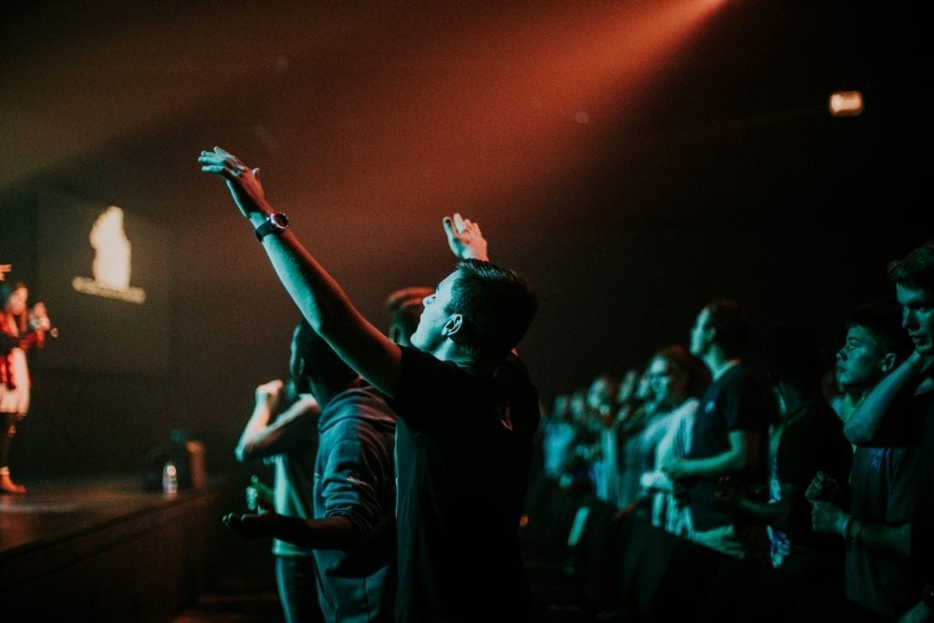 Because concert-going is such a popular aspect of Christian Music, the recording often mimics a live performance in many ways.