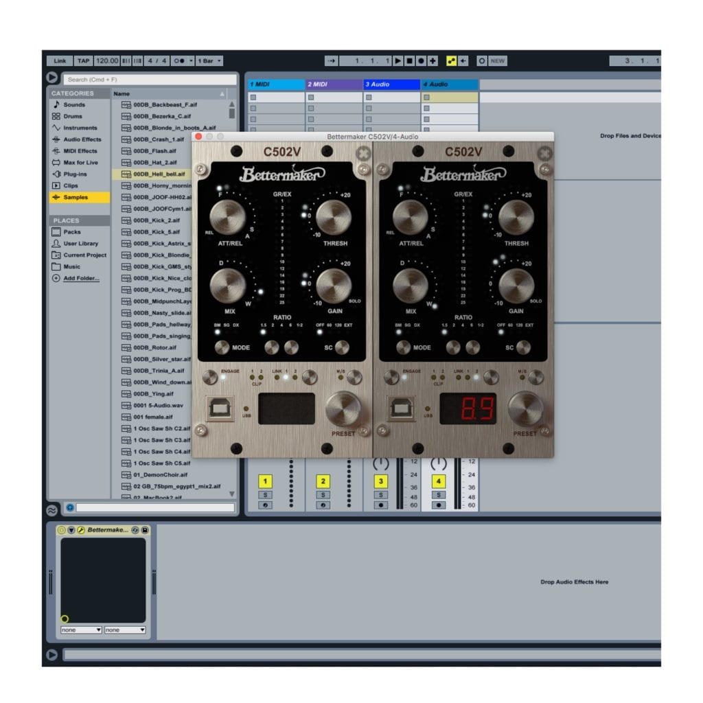 Plugins with the exact interface can be used to control the hardware, and vice verse.