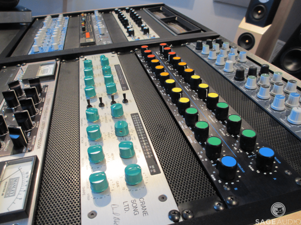 Analog equipment offers a lot more complexity than most digital emulations.