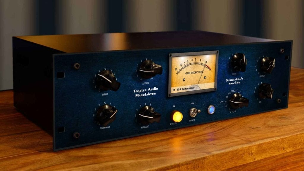Tegeler audio is also currently releasing hardware controlled by digital processing.