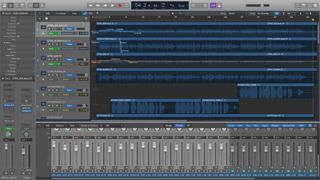 Automation can occur within your DAW and still control the hardware's parameters.