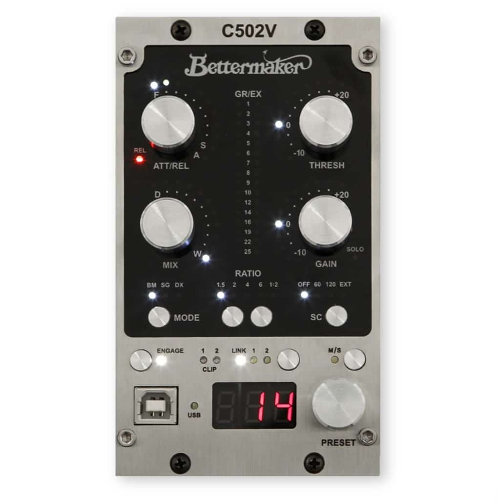 The digitally controlled analog functionality also applies to their 500 series equipment.