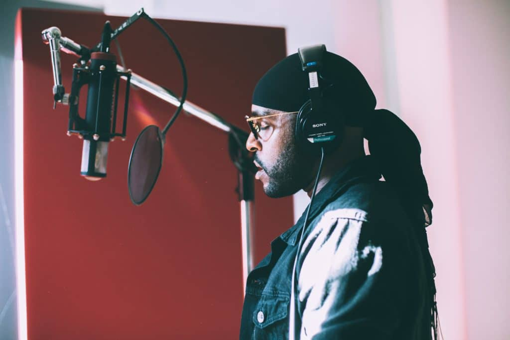 Rap vocals are much more upfront than in any other genre.