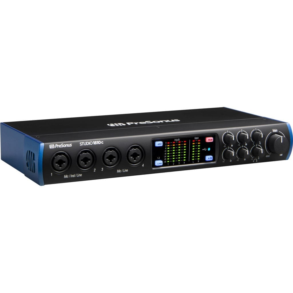 Affordable and flexible, the PreSonus Studio is a great introductory interface.